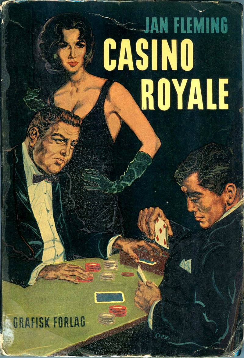 Casino Royale (Grafisk forlag 1959) forside