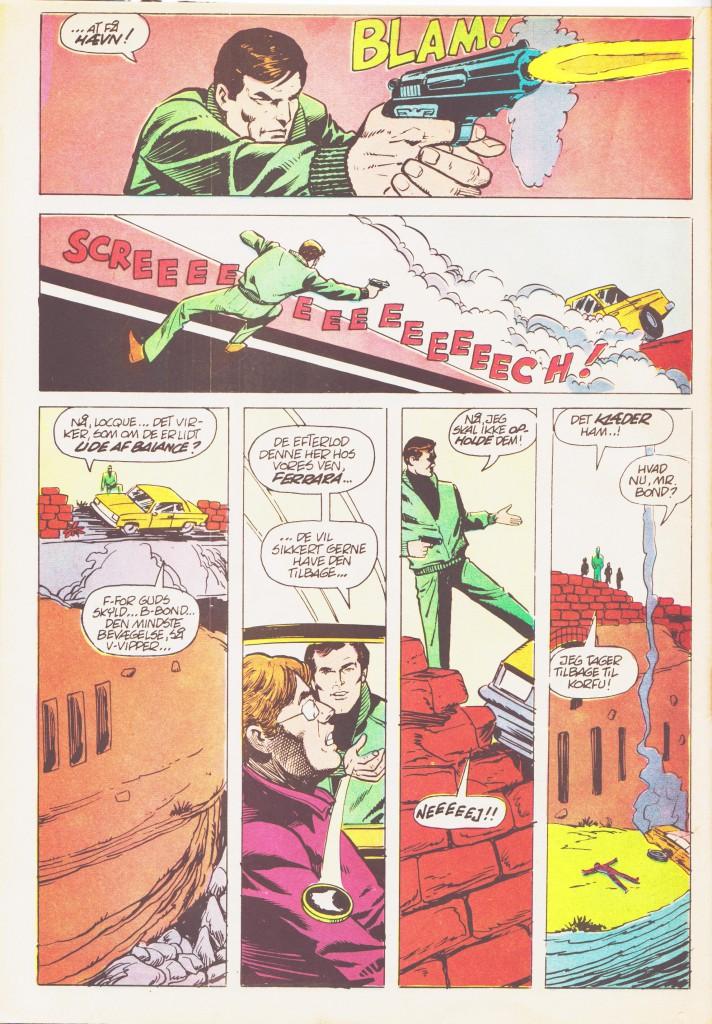 """Side 38 fra """"007 James Bond strengt fortroligt"""" (Winthers forlag 1981)"""