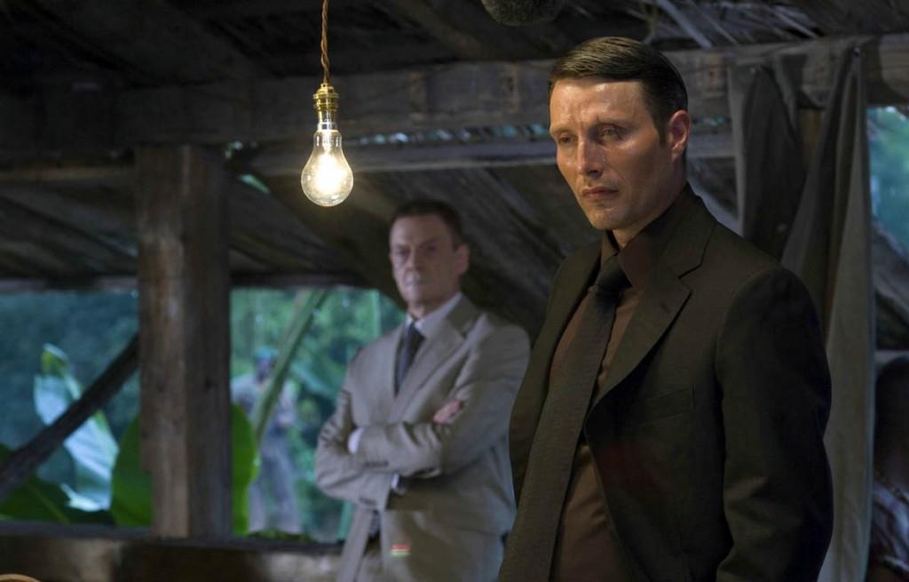 """Jesper Christensen & Mads Mikkelsen i EON Productions' """"Casino Royale"""" (2006)"""