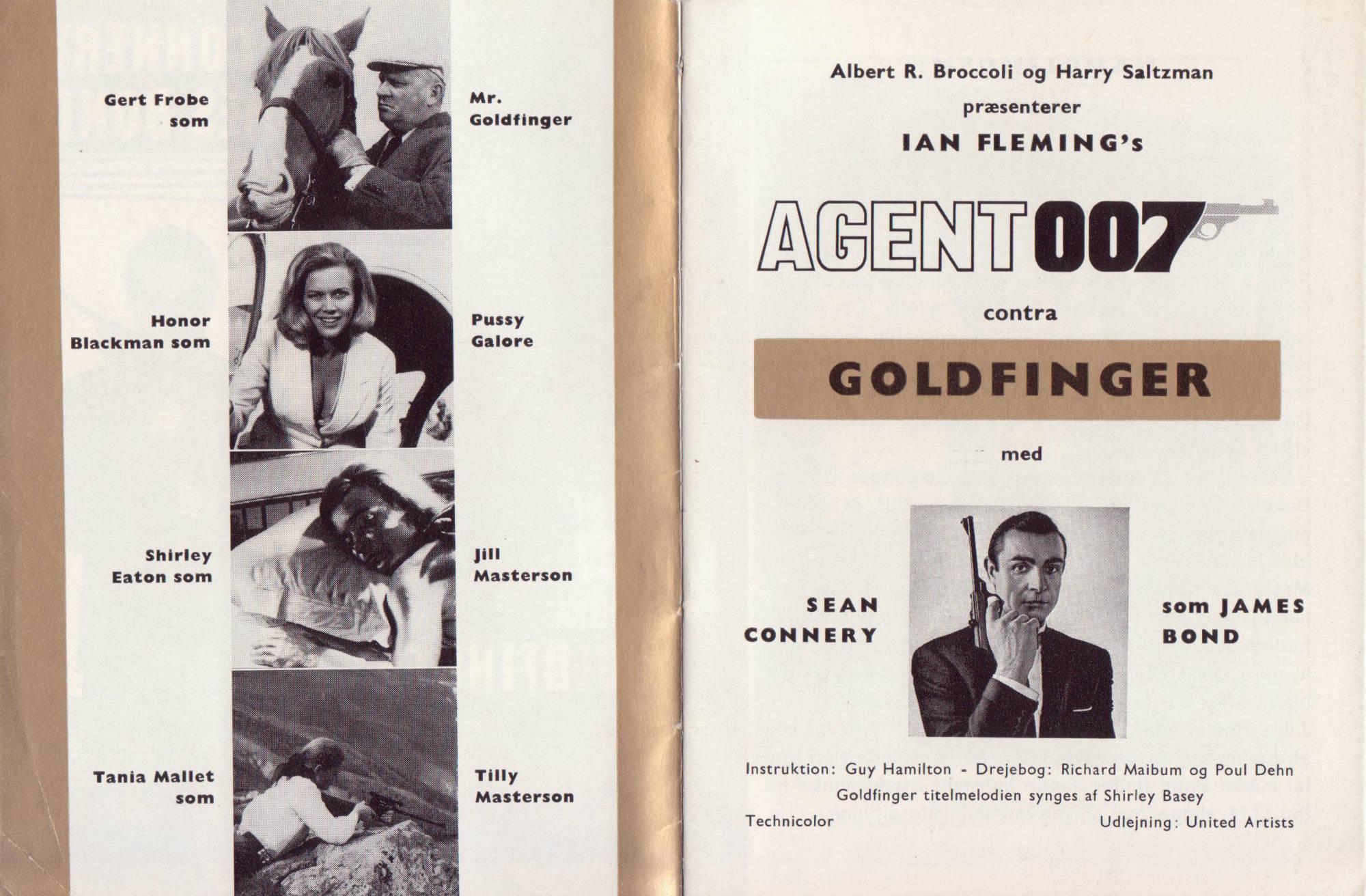 Goldfinger - dansk program B