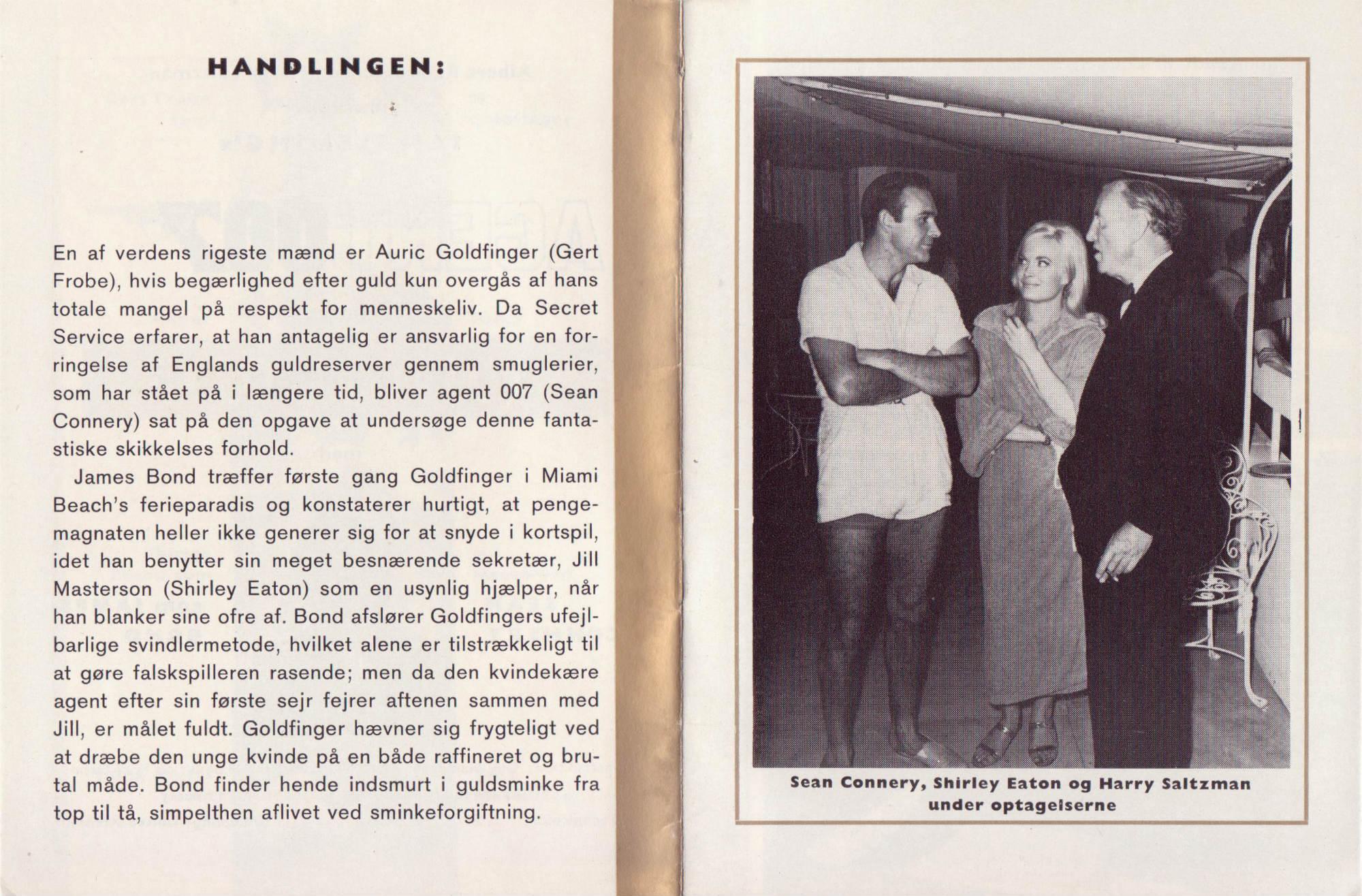 Goldfinger - dansk program C