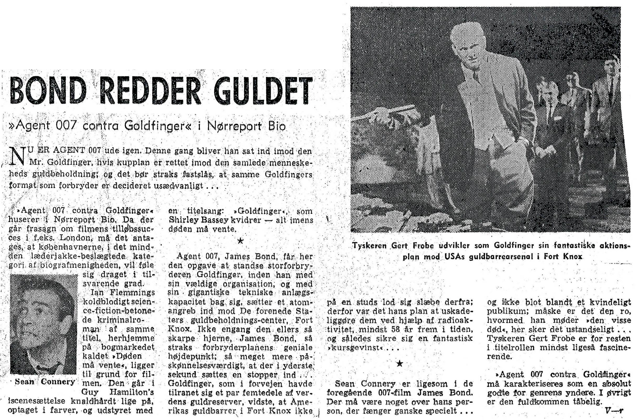 GOLDFINGER Aktuelt (27.12.64)