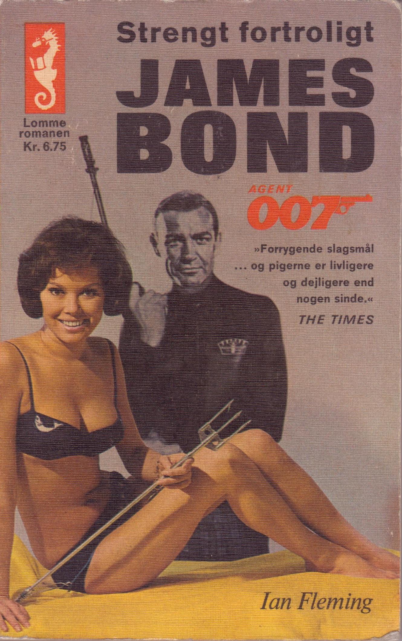 Strengt fortroligt - James Bond (Skrifola 1966)