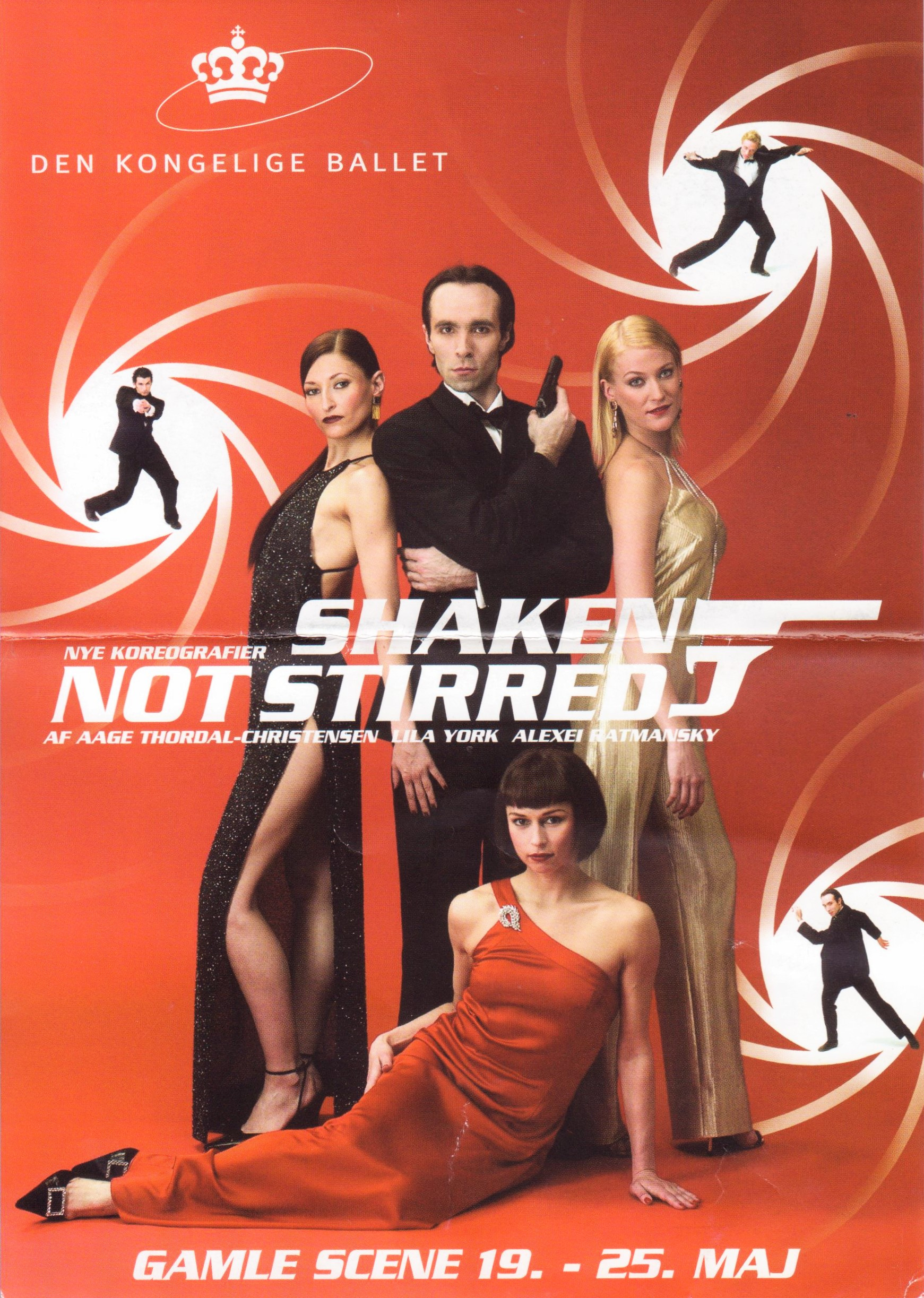 Kgl Ballet Shaken Not Stirred 2001