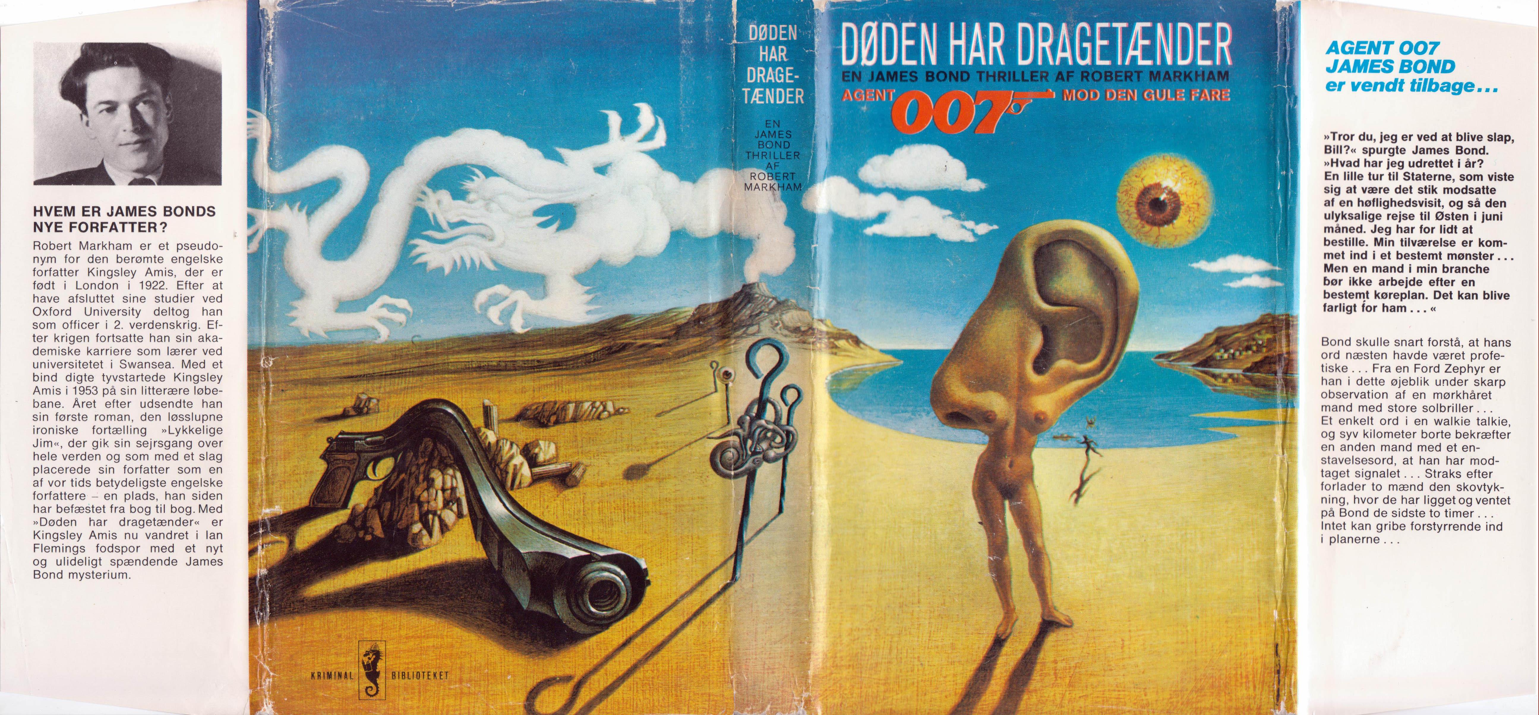 Dansk smudsomslag - illustration: Tom Adams