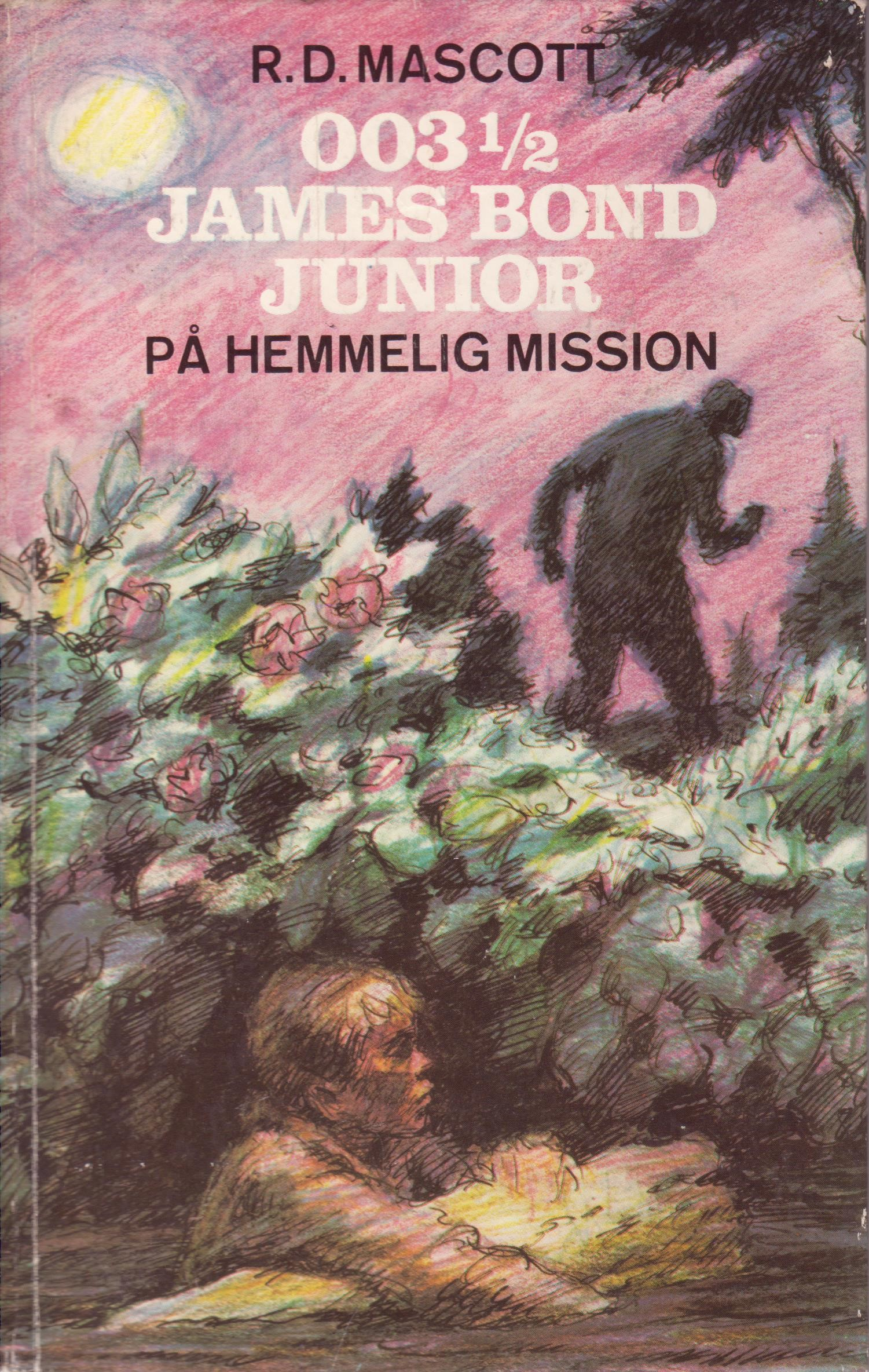 003½ paa hemmelig mission - DK forside 1970