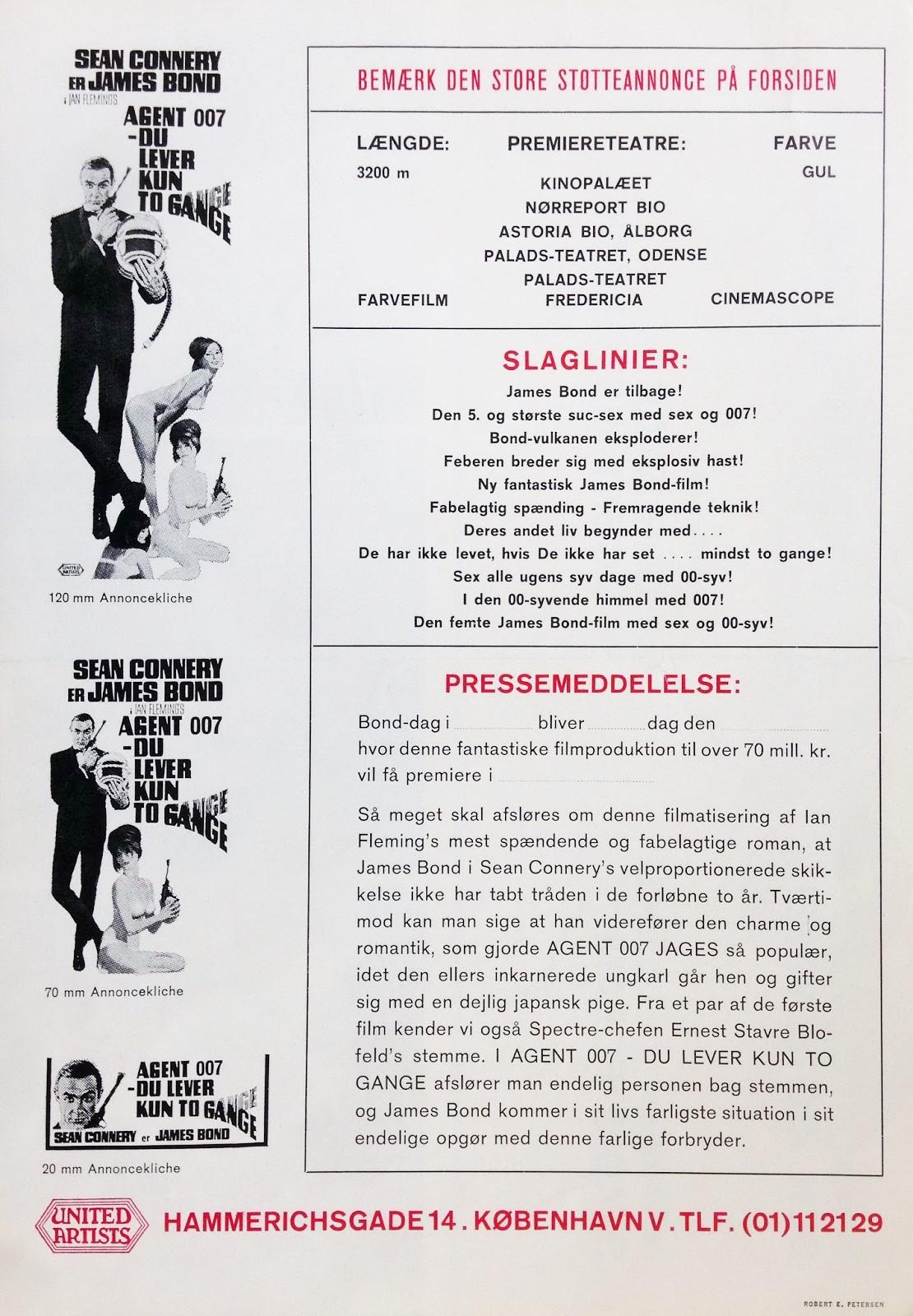 05 - Agent 007 Du Lever Kun To Gange (1B)