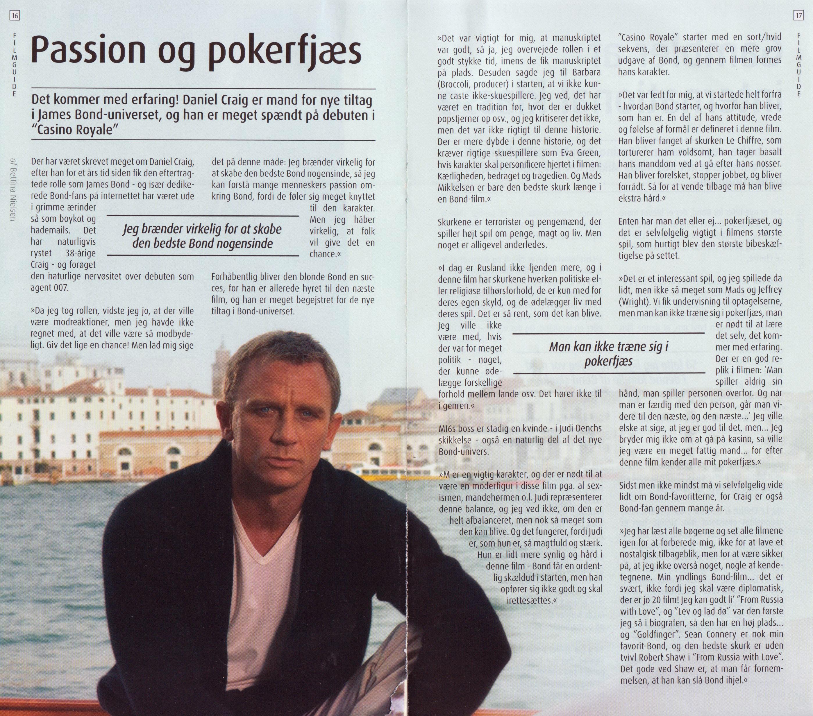 Casino Royale - Daniel Craig, FilmGuide #125 (2006)
