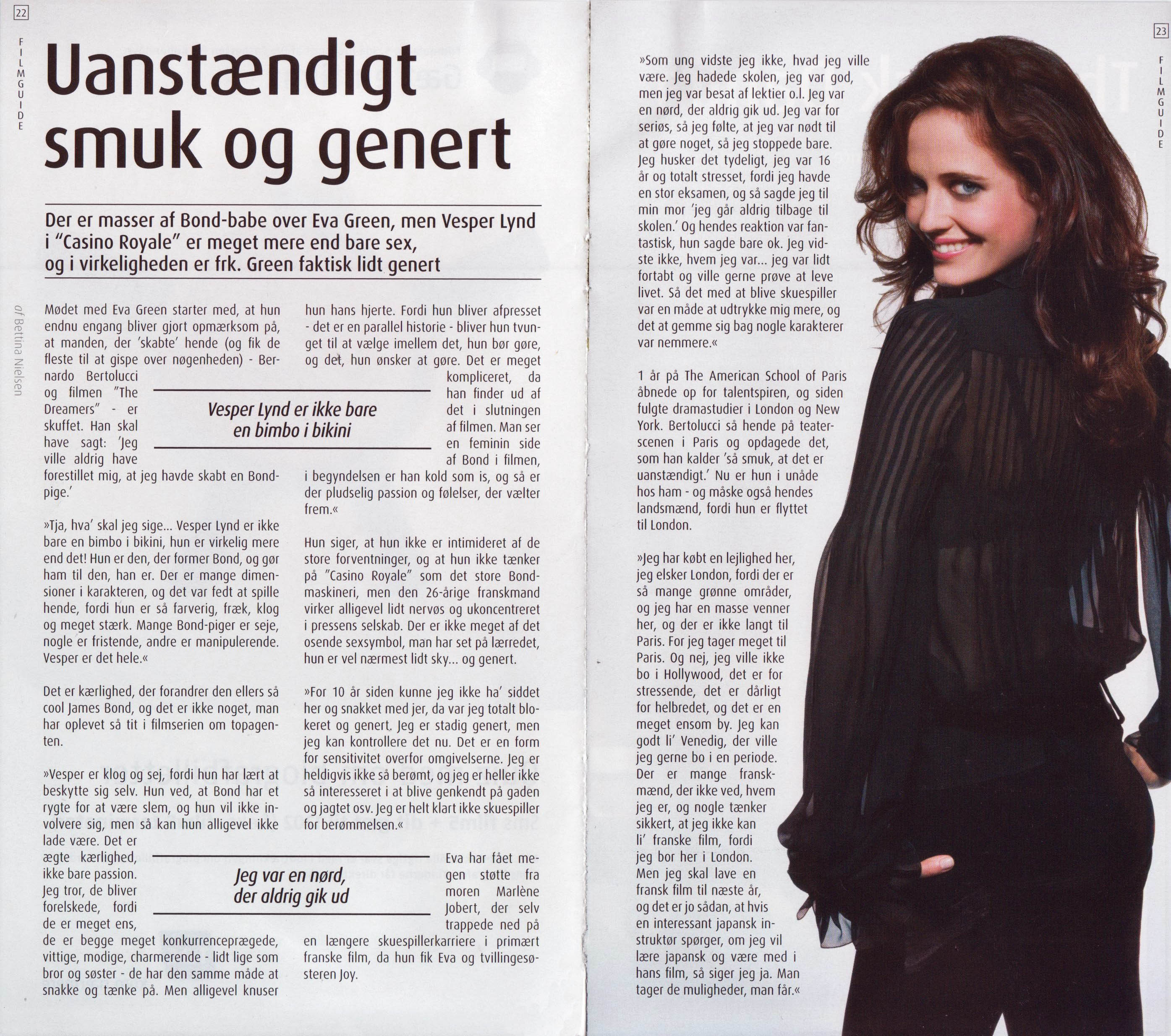 Casino Royale - Eva Green - FilmGuide #125 (2006)