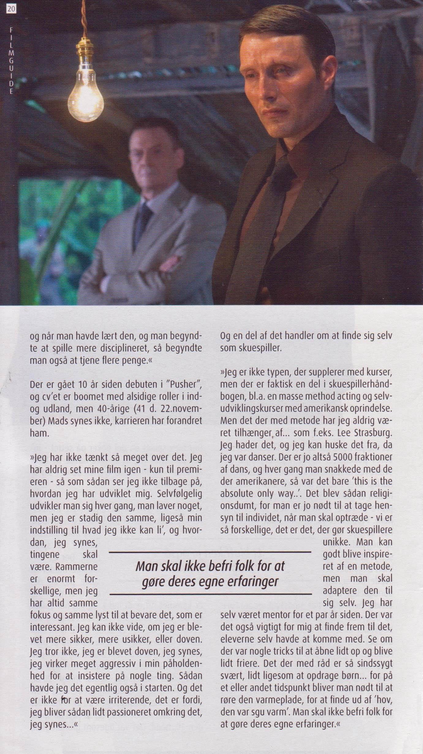 CR Mikkelsen FilmGuide 2006 C