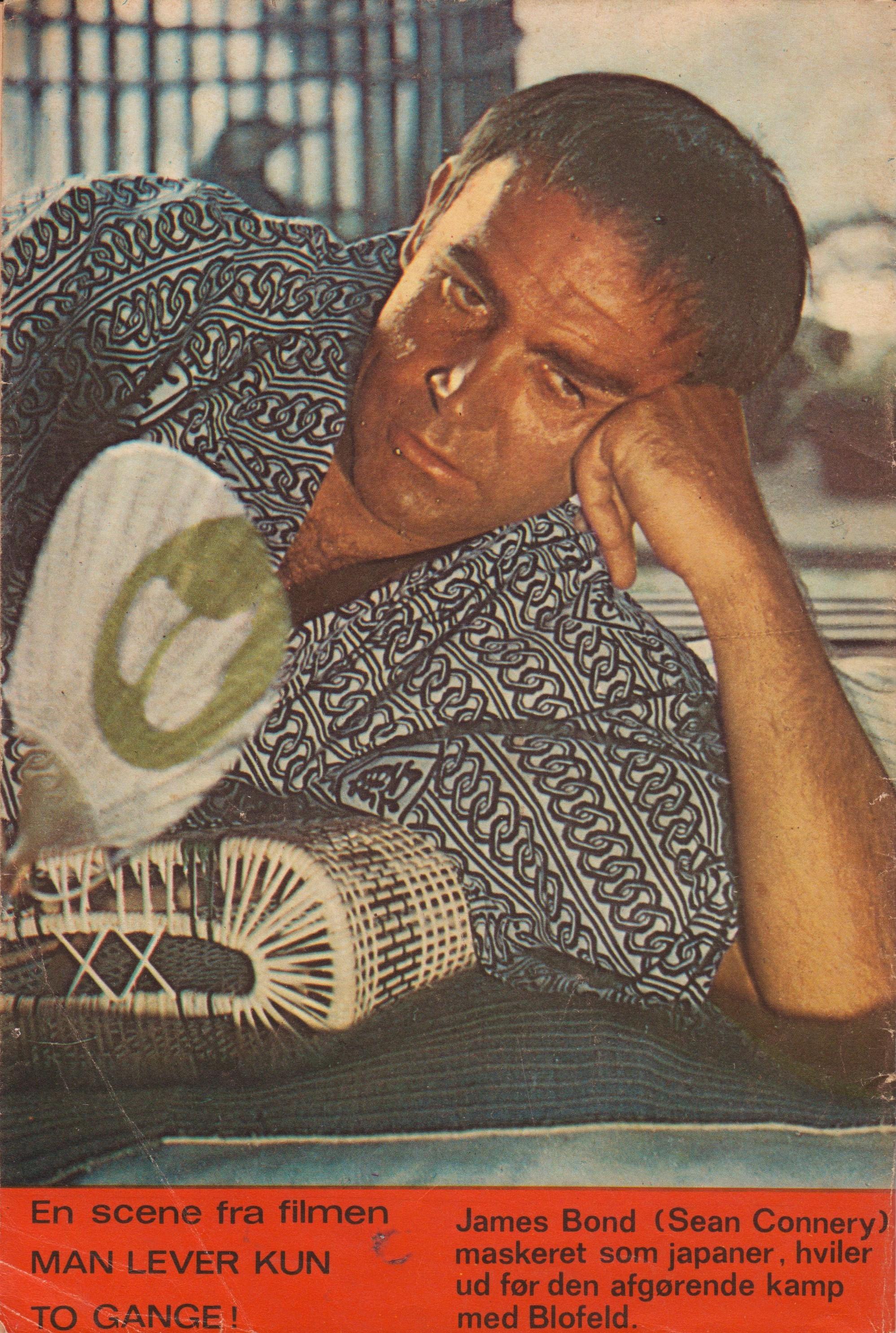 "James Bond Agent 007 no  12: ""You Only Live Twice"" (1967) – James"