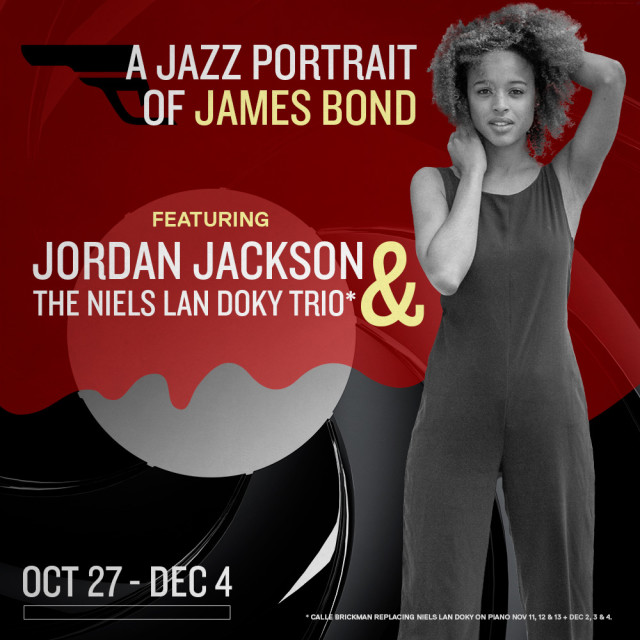 Jazz Portrait of James Bond logo