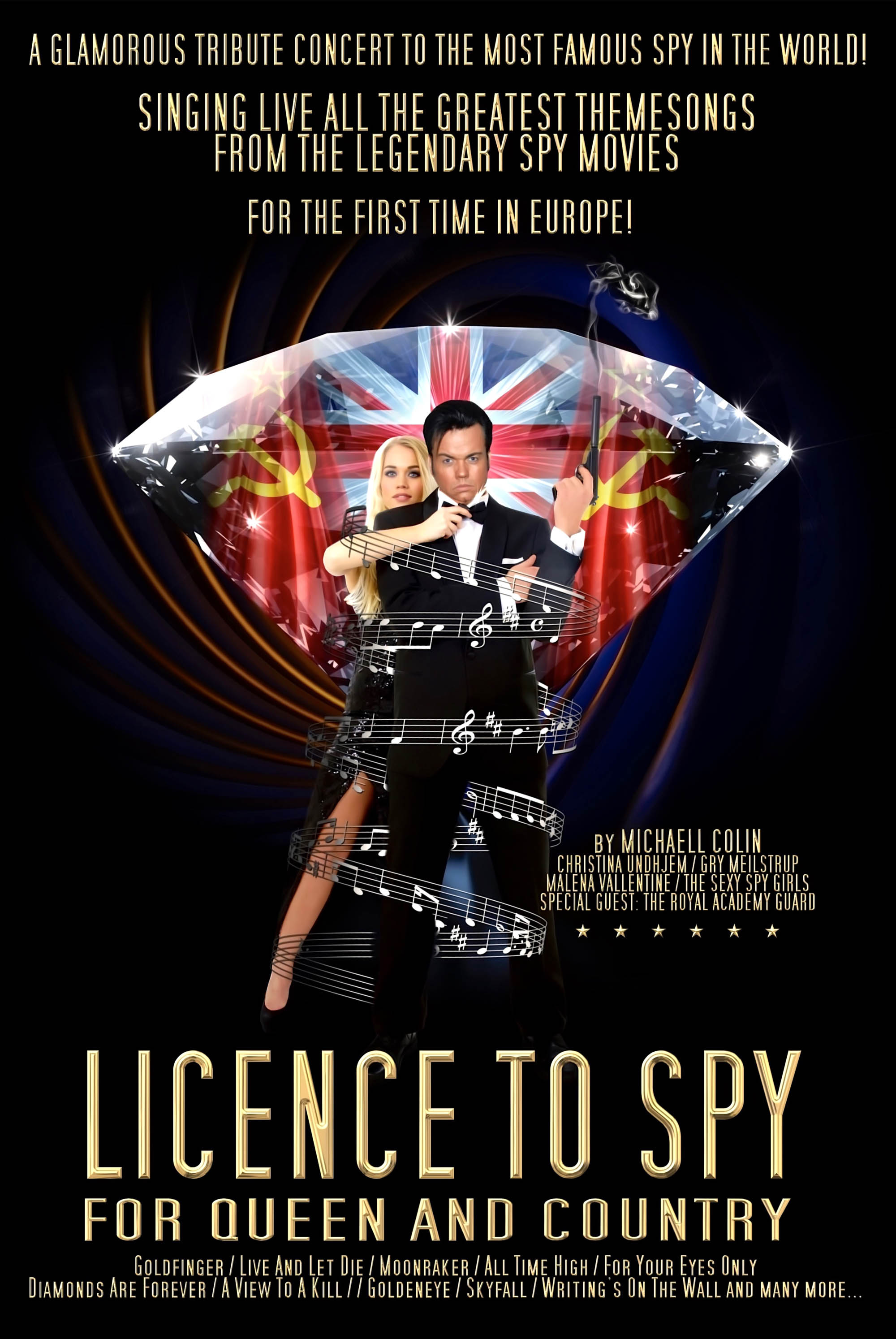 Licence to Spy - plakat