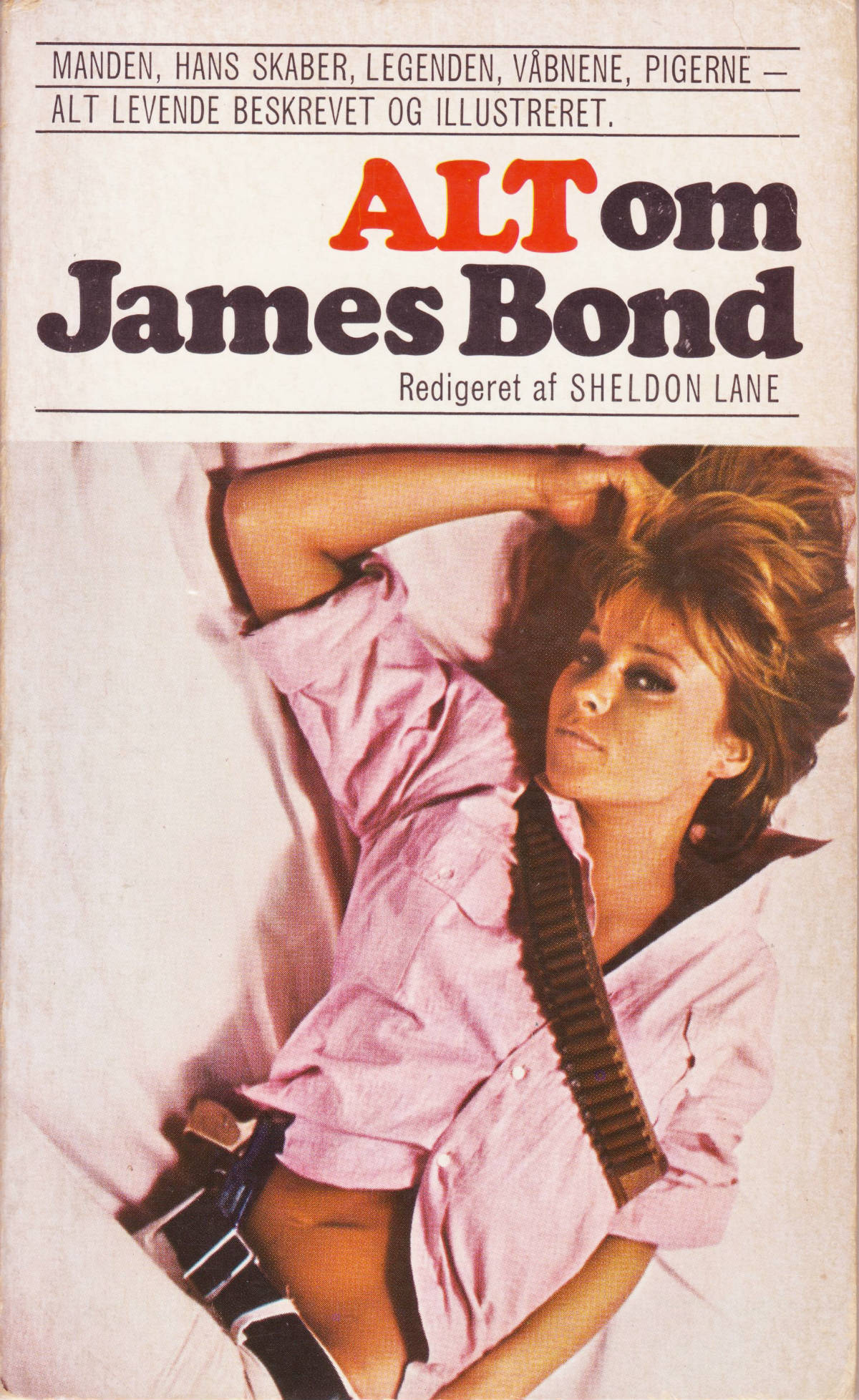 """Alt om James Bond"" (1967): Danish front cover"