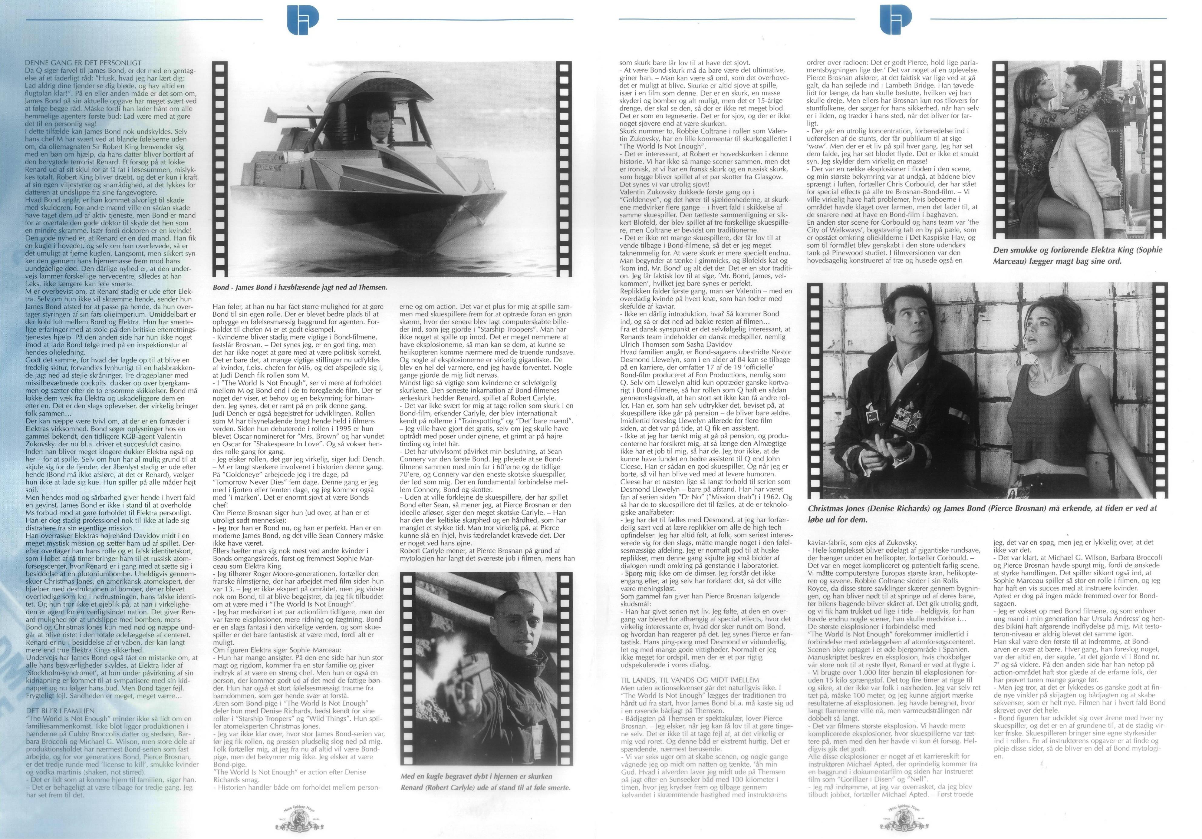 TWINE Danish press book inside
