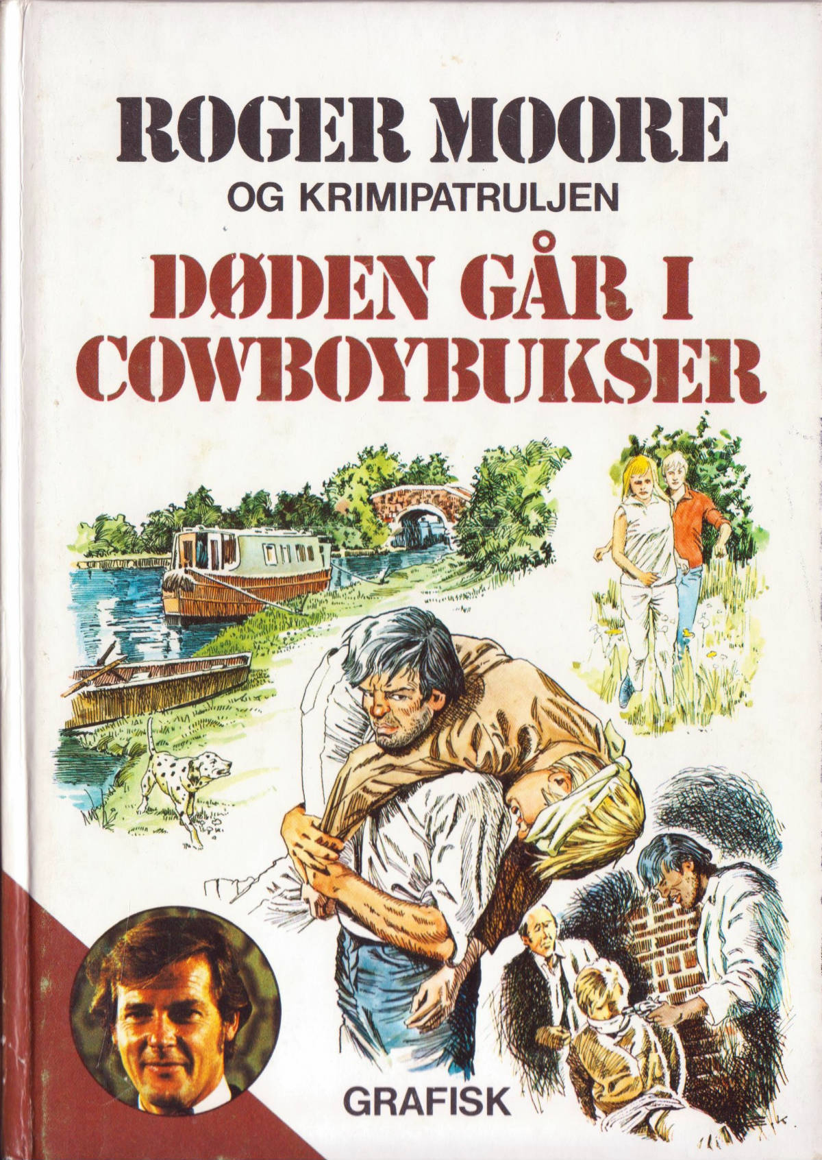 Roger Moore og Krimipatruljen 5 forside