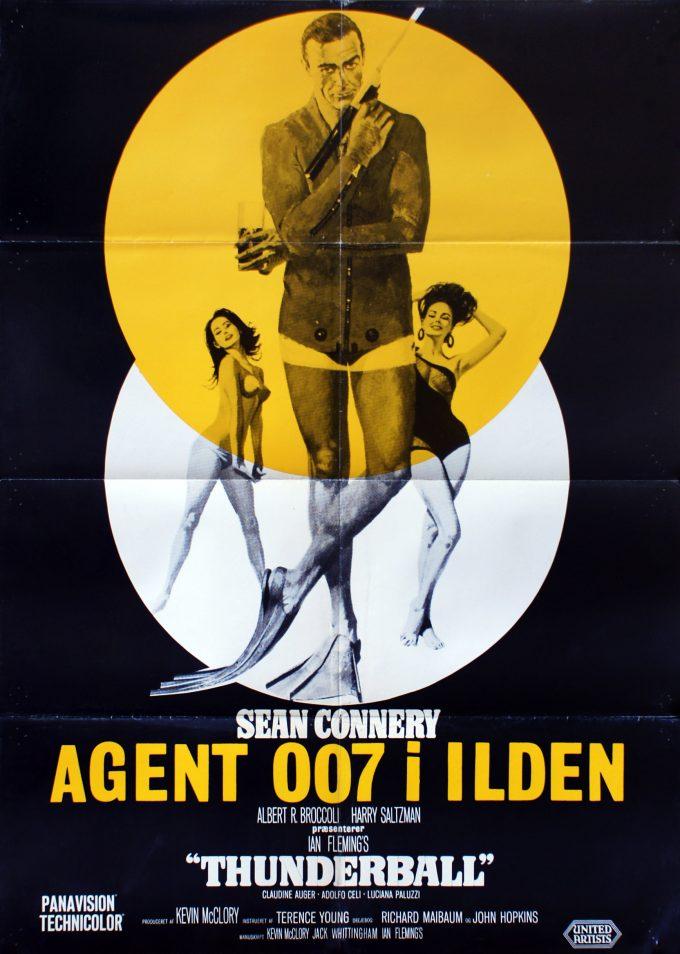 Agent 007 i ilden - DK variant gul