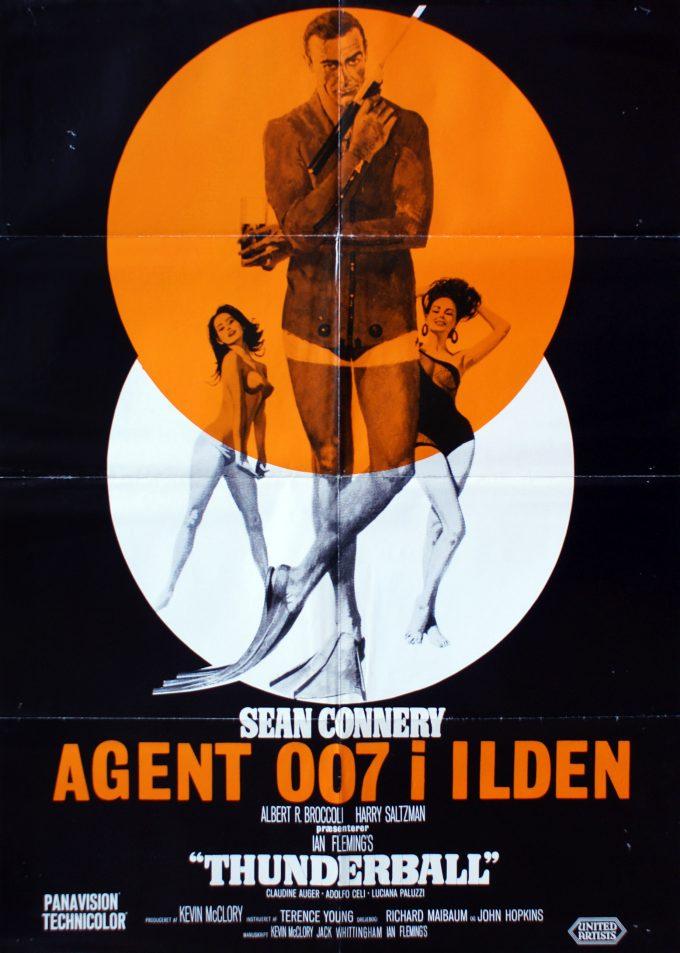 Agent 007 i ilden - DK variant orange