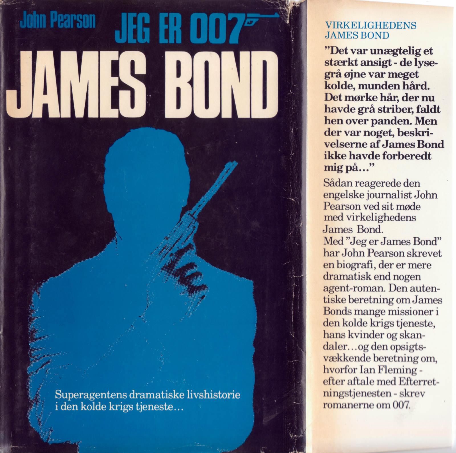 Jeg er 007 James Bond højre flap