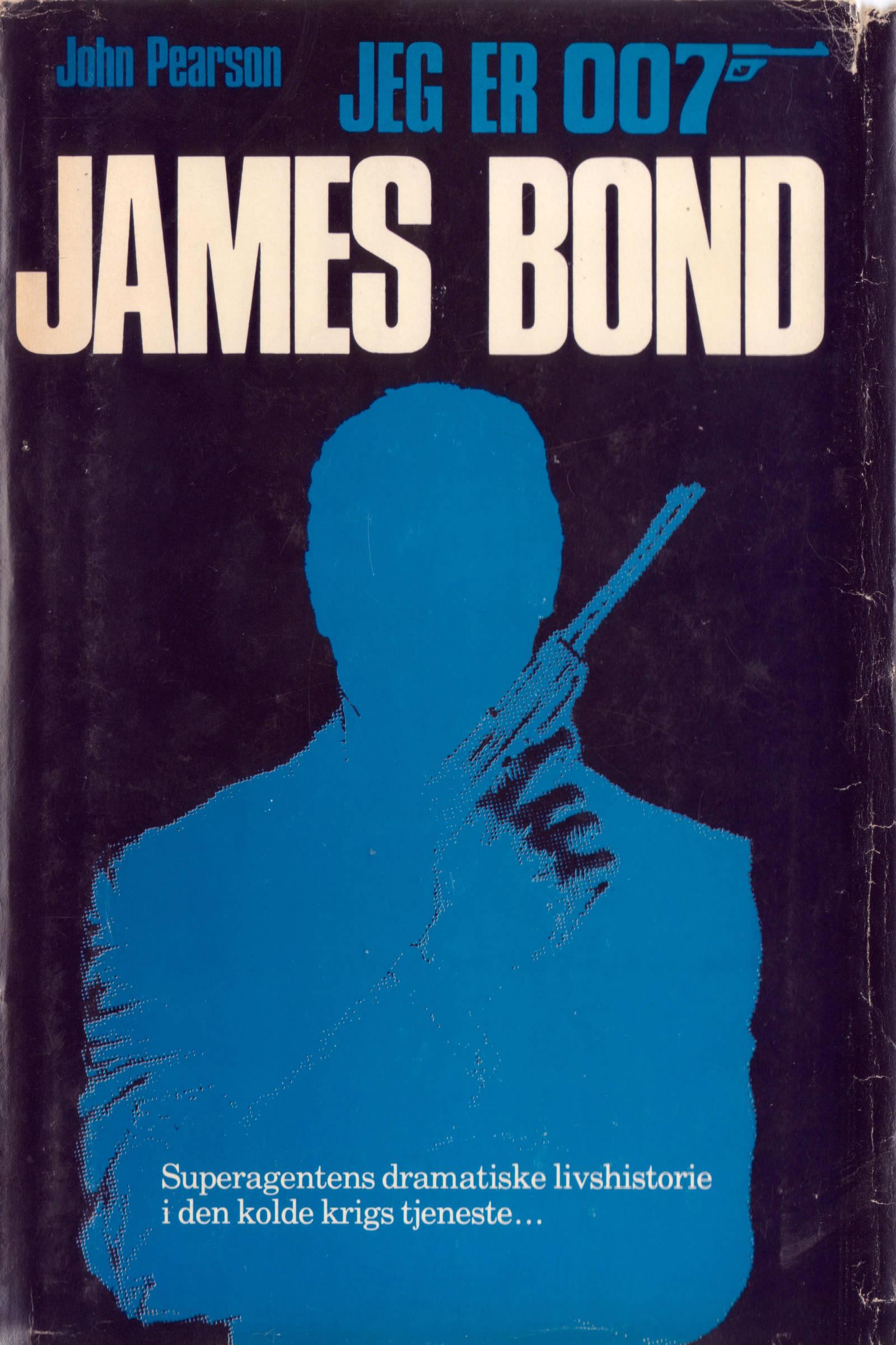 Jeg er 007 James Bond DK forside
