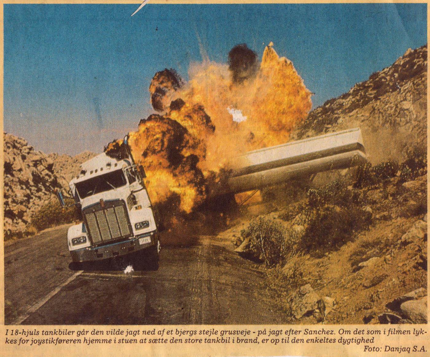 Licence to Kill - computerspilanmeldelse JP 15.07.1989 A