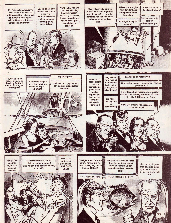 Spionen der elskede sig fra Dansk MAD's Videoguide side 77