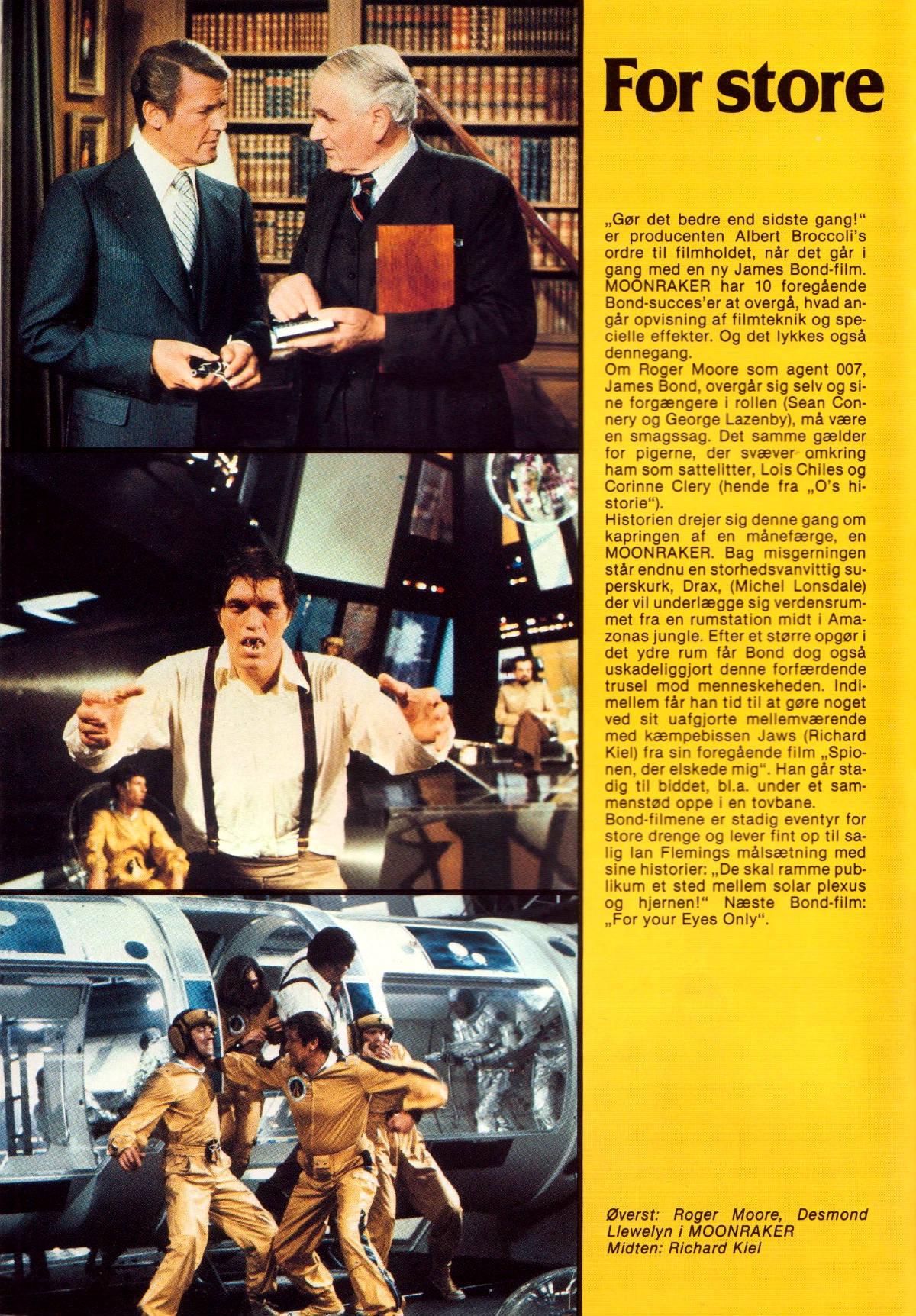 Moonraker - Filmårbogen 1979 A