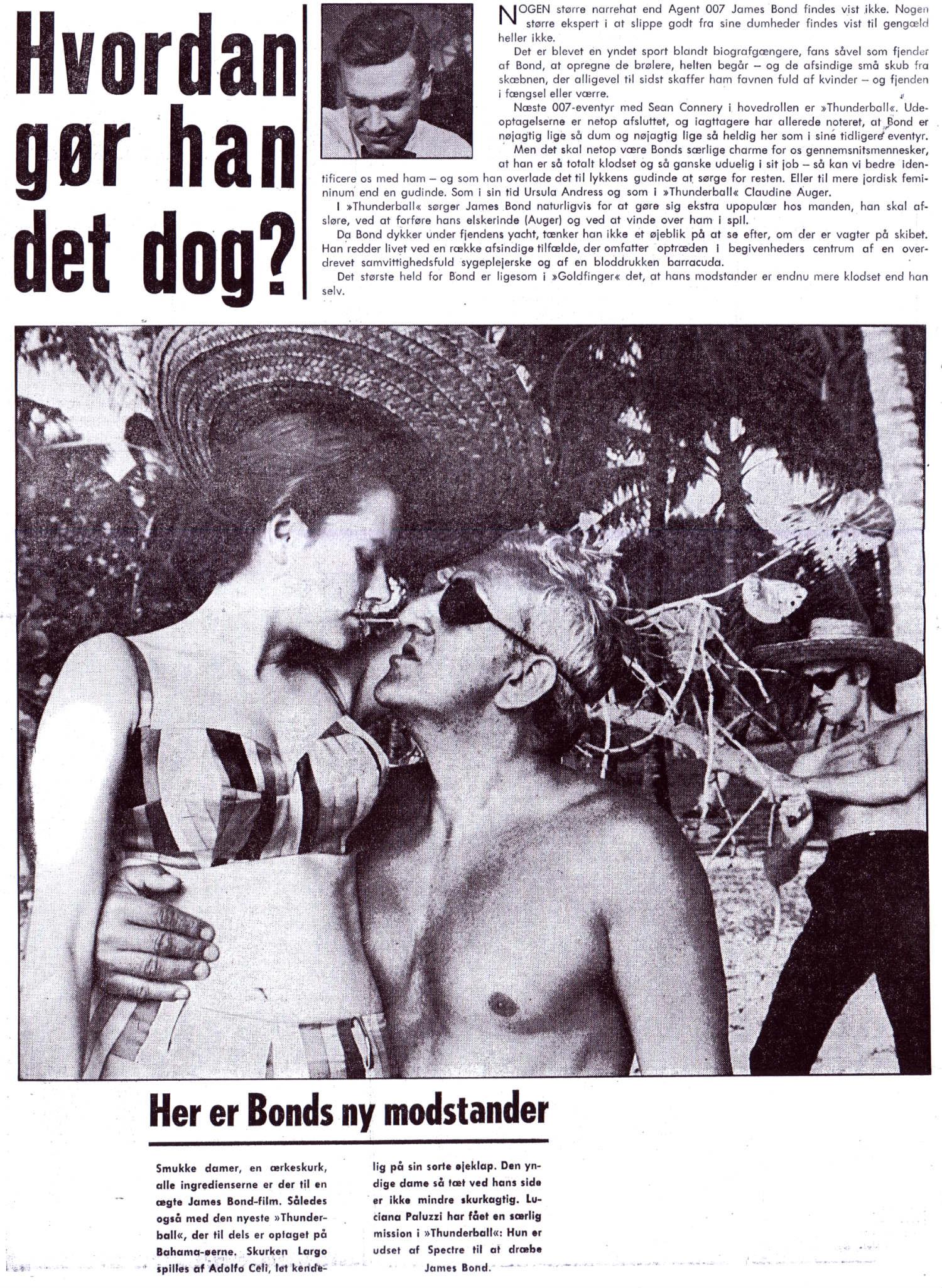 Thunderball foromtale - B.T. 25.05.1965