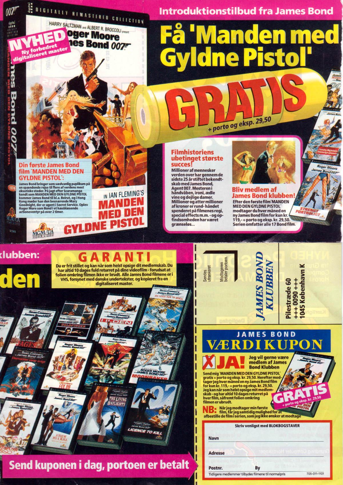 JBKlubben annonce Golden Gun Digital Remaster 1993-94