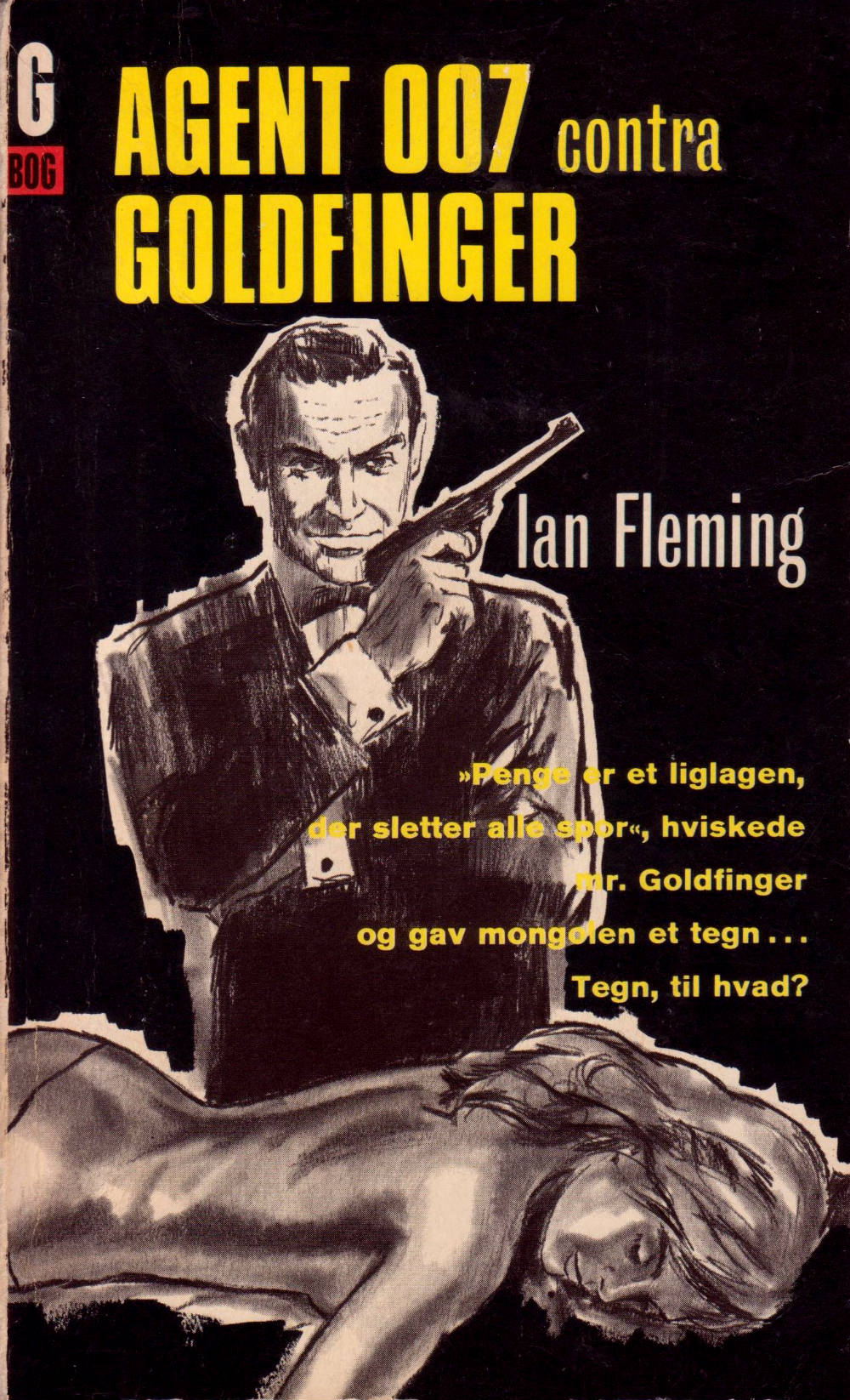 Goldfinger Skrifola paperback 1965 for