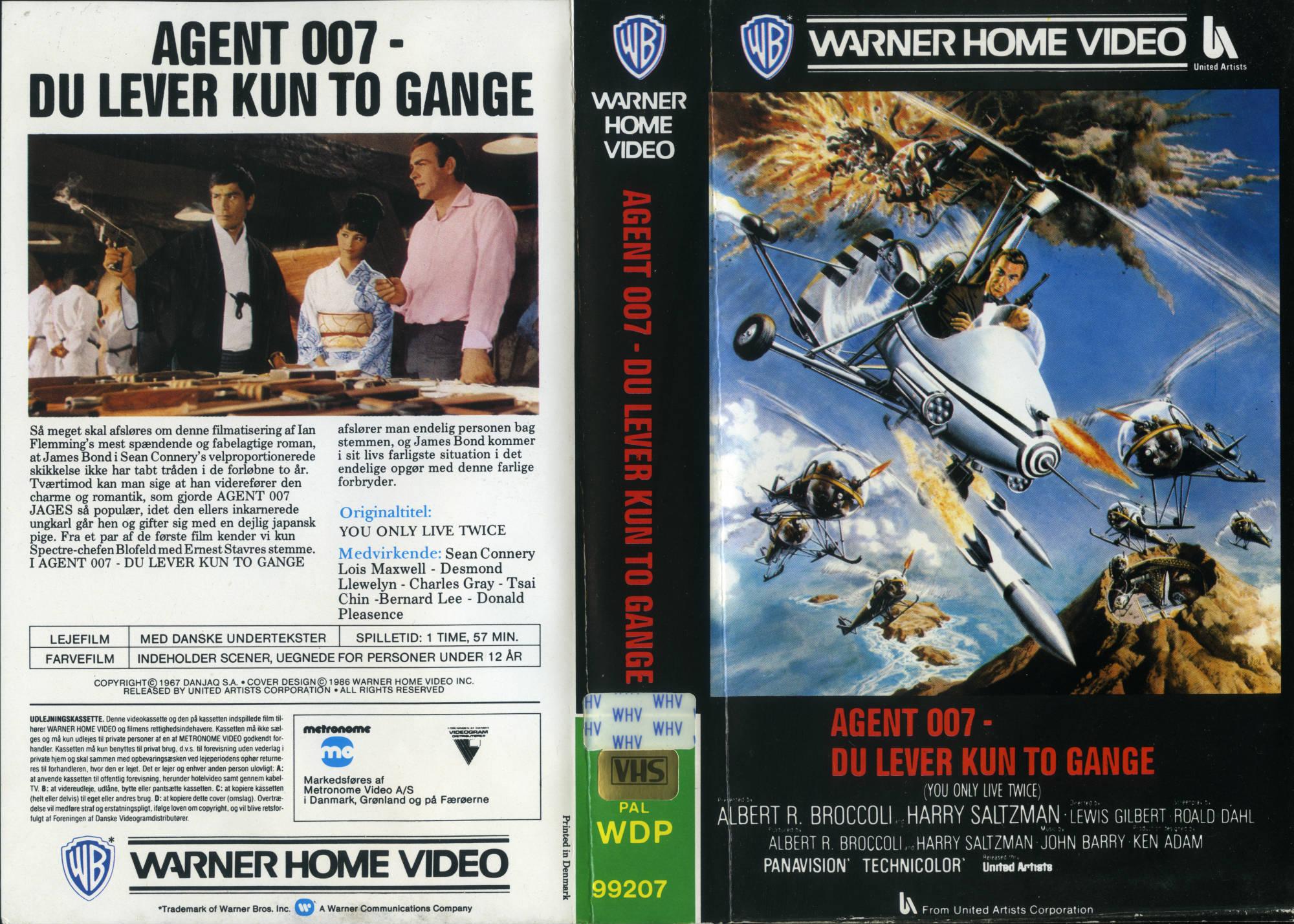 YOLT DK VHS-omslag 1986