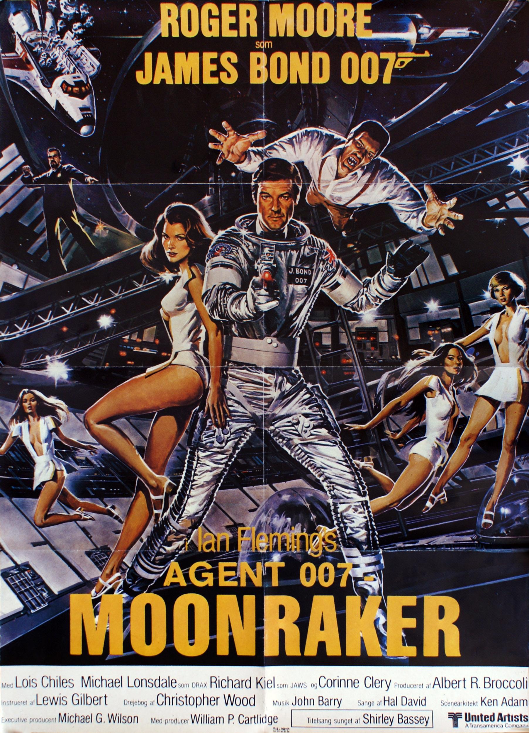Moonraker DK plakat