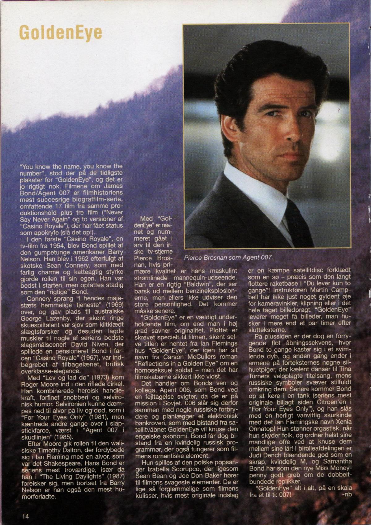 GoldenEye Filmårbogen 1996 - A