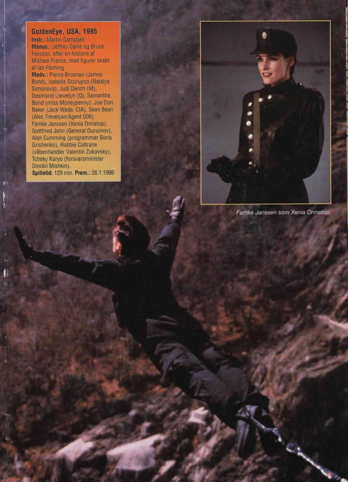 GoldenEye Filmårbogen 1996 - B