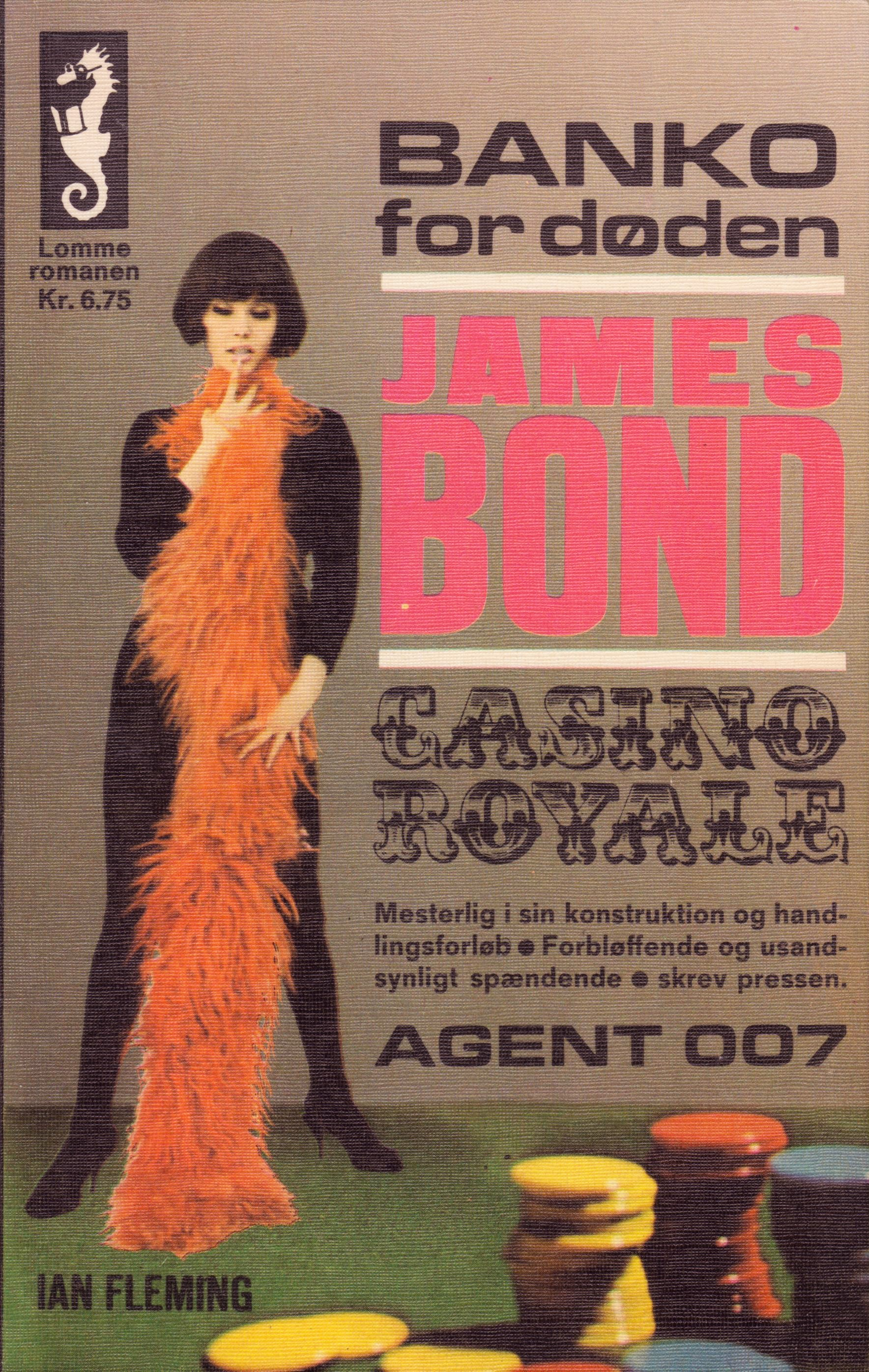 Banko for døden James Bond (Skrifola 1967) forside